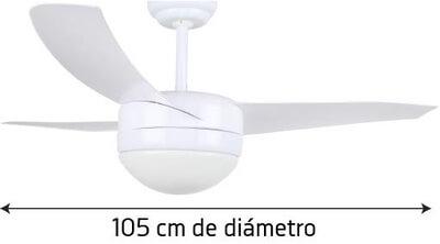 Orbegozo CP 88105 105 cm de diámetro potencia de 70 W y 3